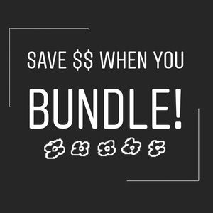 Other - Save $$$ When you BUNDLE!